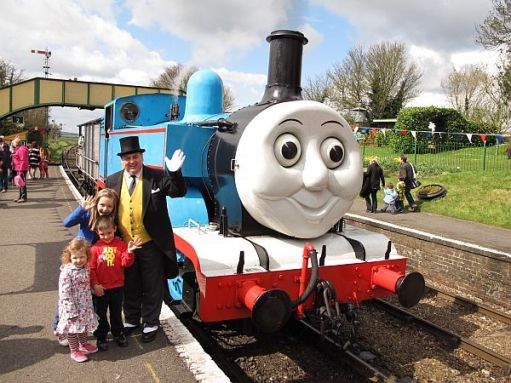 Days out with Thomas. Kyla, Layla and Sonny. Plus the Fat Controller. 2012.
