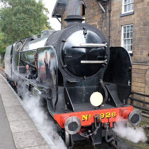 Locomotive no 926 at Grosmont.