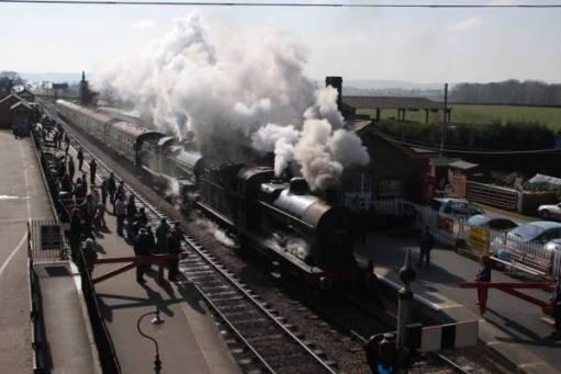 West Somerset Railway. Bishop Lydeard. Autumn gala. 2006.