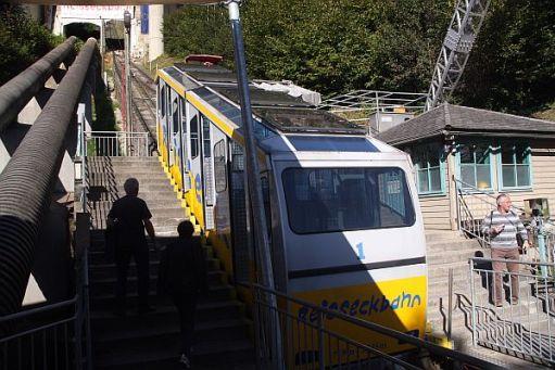 Mountain Railway Bad Kleinkirchhein.