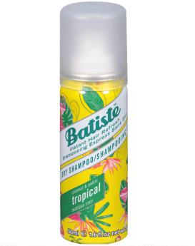Dry shampoo - Travel beauty products