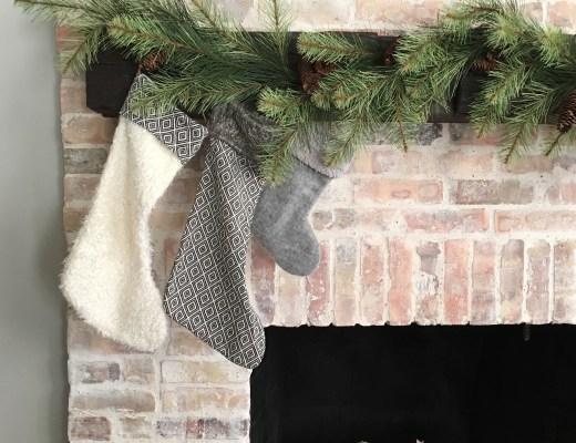 Christmas Living Room Tour – Mindfully Gray