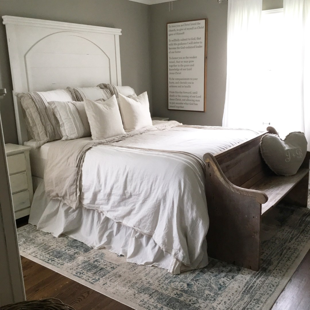 Mindfully Gray - Magnolia Passage Headboard