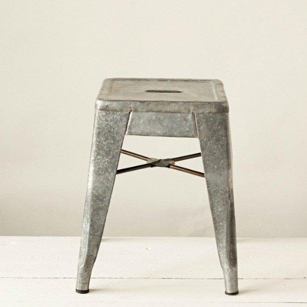 galvanized-metal-stool