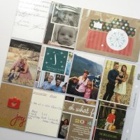 Holiday Album Part 2 | What to do with all those Holiday Cards?
