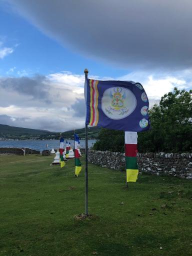 Masters retreat on Holy Isle 2