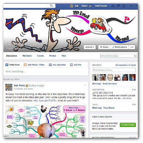 Mind Map Mad Facebook Discussion Group