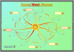 Sab_Will_sunny-weekly-planner_MindMapMad_iMindMap