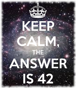 keep calm the answer is 42 what is mind mapping FAQ