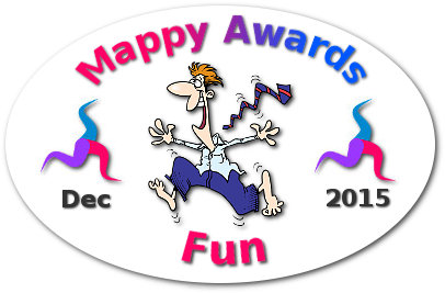 Mappy Awards December 2015 'FUN' Winner by Karl Mortier