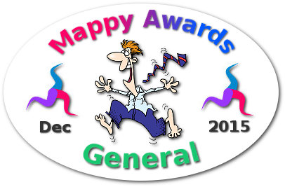 Mappy Awards December 2015 'GENERAL' Winner by Olga Koshelev