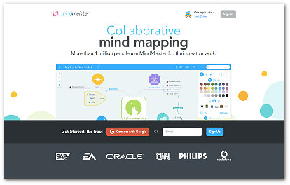 World's Best Mind Mapping Software 2016 Challenge - ConceptDraw screen