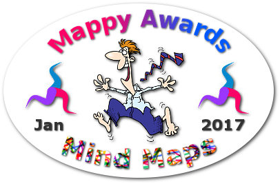 """mappy awards"" January 2017 Mind Maps winner ""George Huba"""