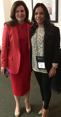 Alpa Pandya with Sandy Gallagher CEO of Proctor Gallagher Institute
