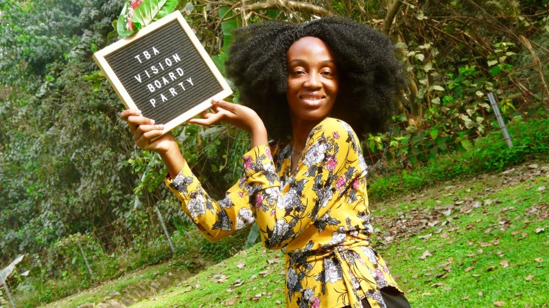 I Attended My First Ever Vision Board Party – Here's What Went Down