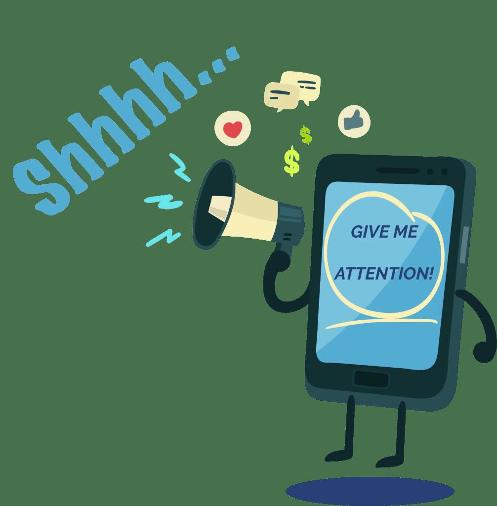 No Mobiles mindfulness
