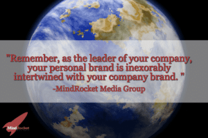A quote about personal branding