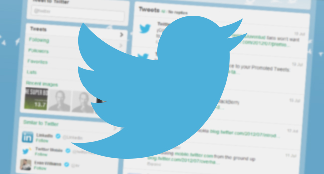 Screen Logo Twitter