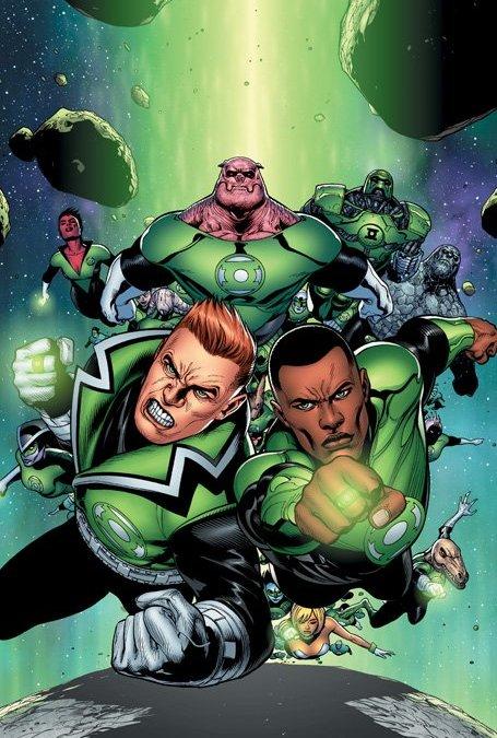 DCnU-Comicreview: Green Lantern Corps #1