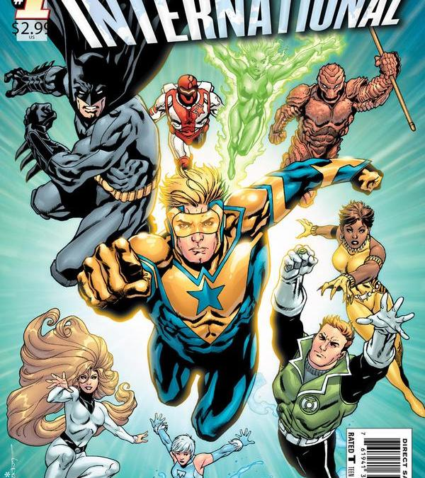 "DCnU-Comicreview: ""Justice League International #1"""