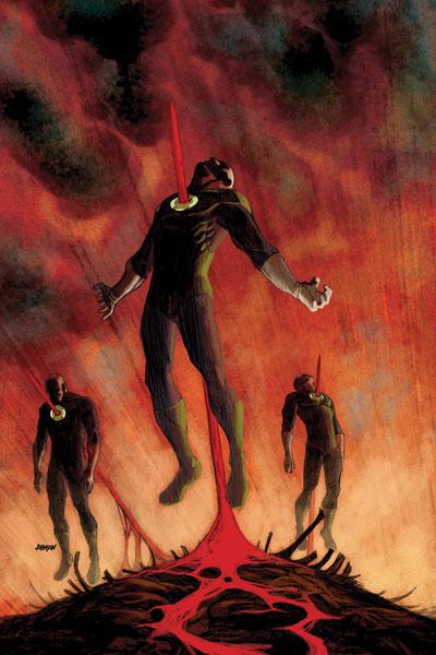 DCnU-Reviewpaket #2: Green Lantern Corps, Justice League, Nightwing, Supergirl, Wonder Woman