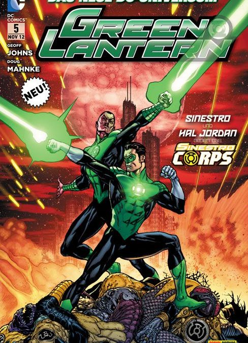 Comicreview: Green Lantern #5