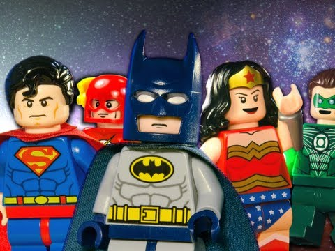 "Die ""Justice League"" als Lego-Stop-Motion-Film"