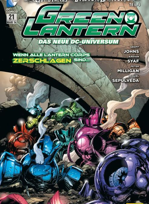 Comicreview: Green Lantern #21