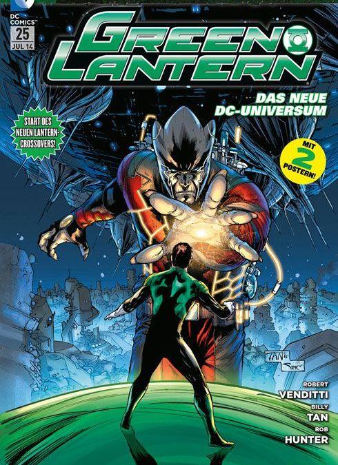 Comicreview: Green Lantern #25
