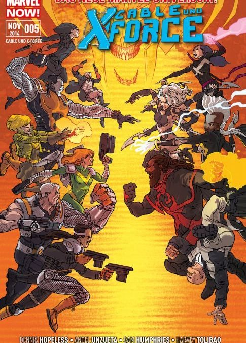 """Comicreview: """"Cable & X-Force"""" Bd. 5 – Finale"""