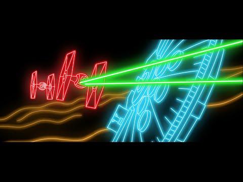 """Der Trailer zu """"Star Wars: Episode VII – The Force Awakens"""" in neon!"""