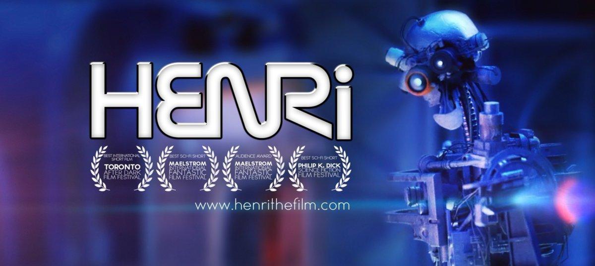 """Im Kurzfilm """"HENRi"""" baut sich ein Raumschiff einen eigenen Robot"""