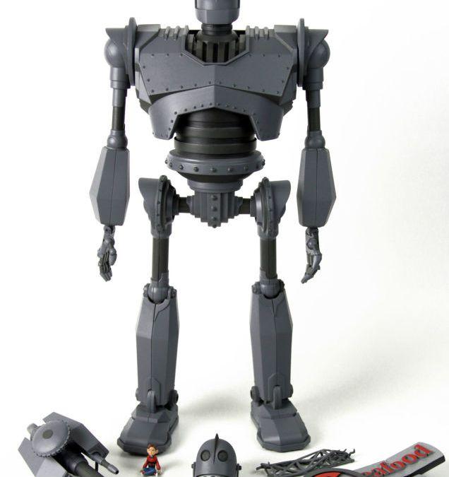 """Heute beginnt die Pre-Order-Phase der """"Iron Giant""""-Deluxe-Actionfigur von Mondo"""