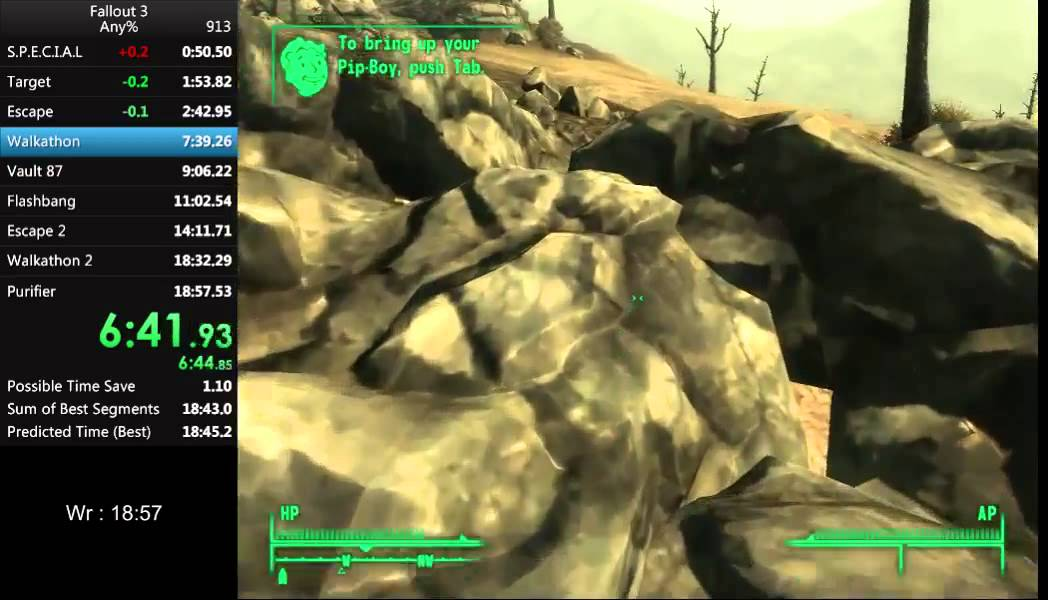 """""""Fallout III"""": Der Rekord für das schnellste Durchspielen wurde schon wieder eingestellt"""