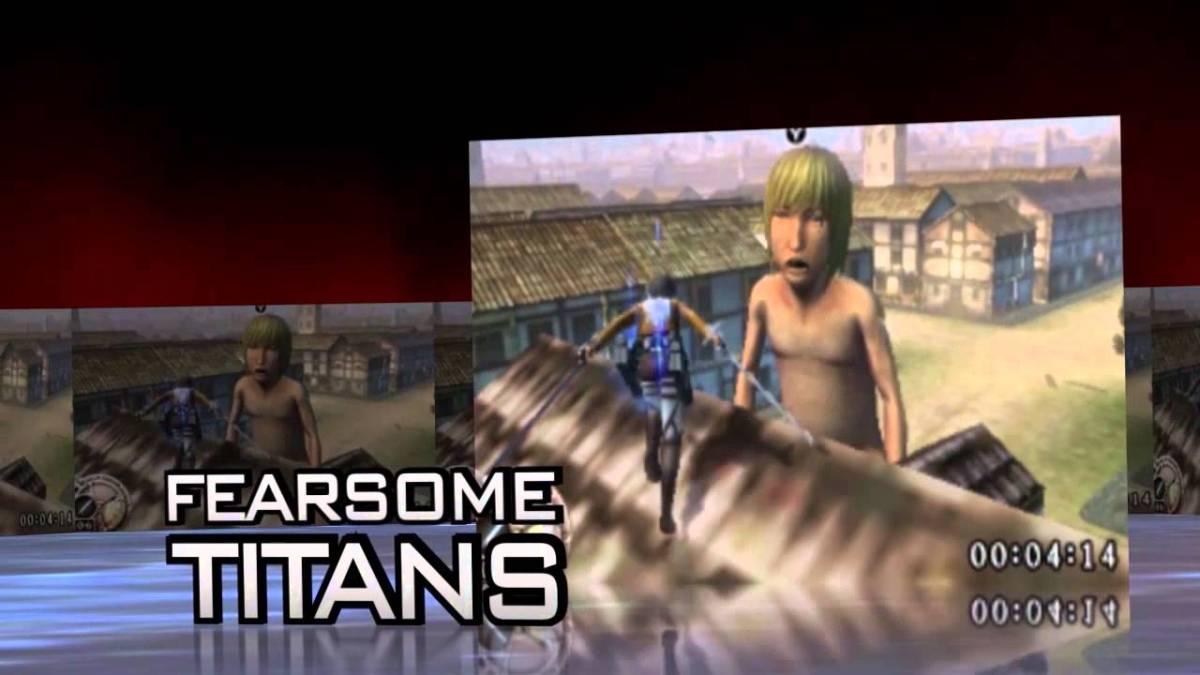 """""""Attack on Titan"""" kommt übrigens auch auf das 3DS"""