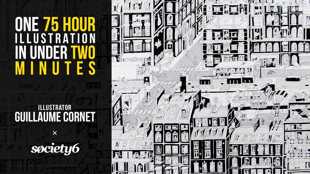 Guillaume Cornet zeichnet eine Nachbarschaft in 75 Stunden