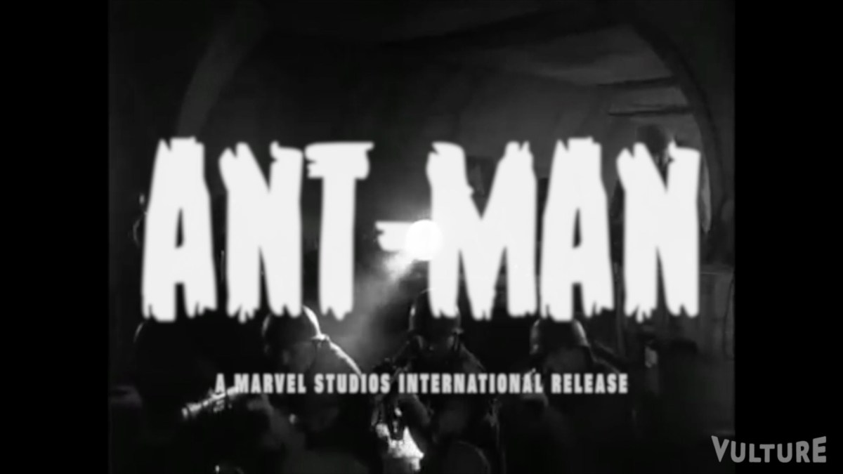 """Ant-Man"" as '50s Monster Movie"