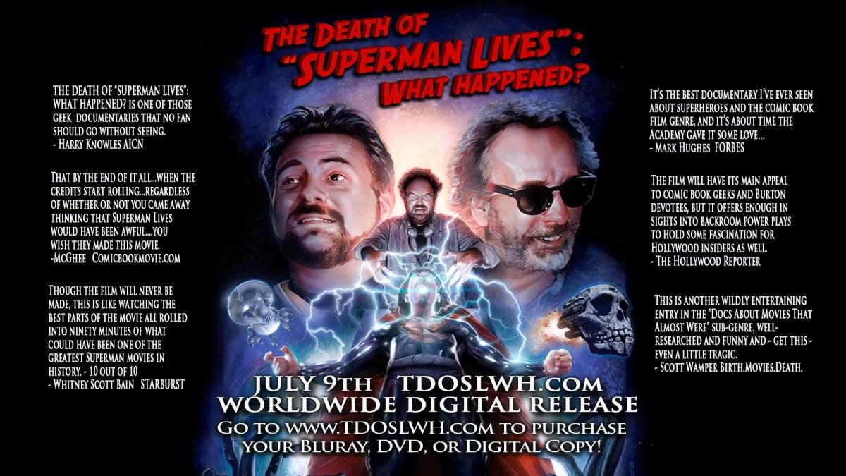 """Die ersten 10 Minuten von """"The Death of """"Superman Lives"""";What Happened?"""""""
