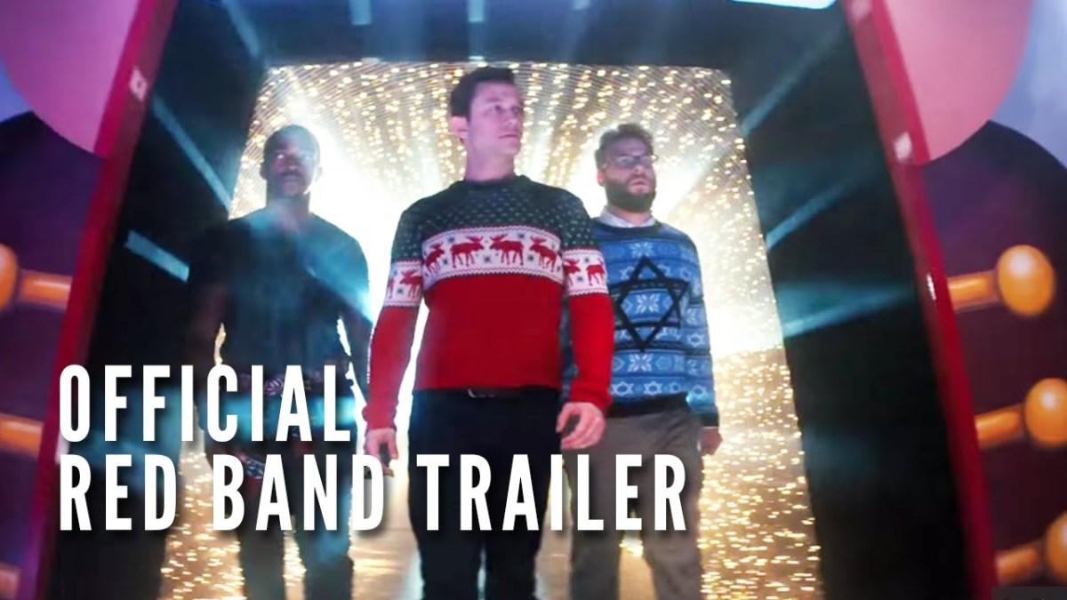 """Seth Rogen und Joseph Gordon-Levitt im Weihnachtsfilm """"The Night Before"""""""