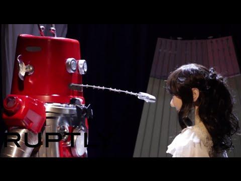 … und dann gab es in Japan die allererste Roboterhochzeit