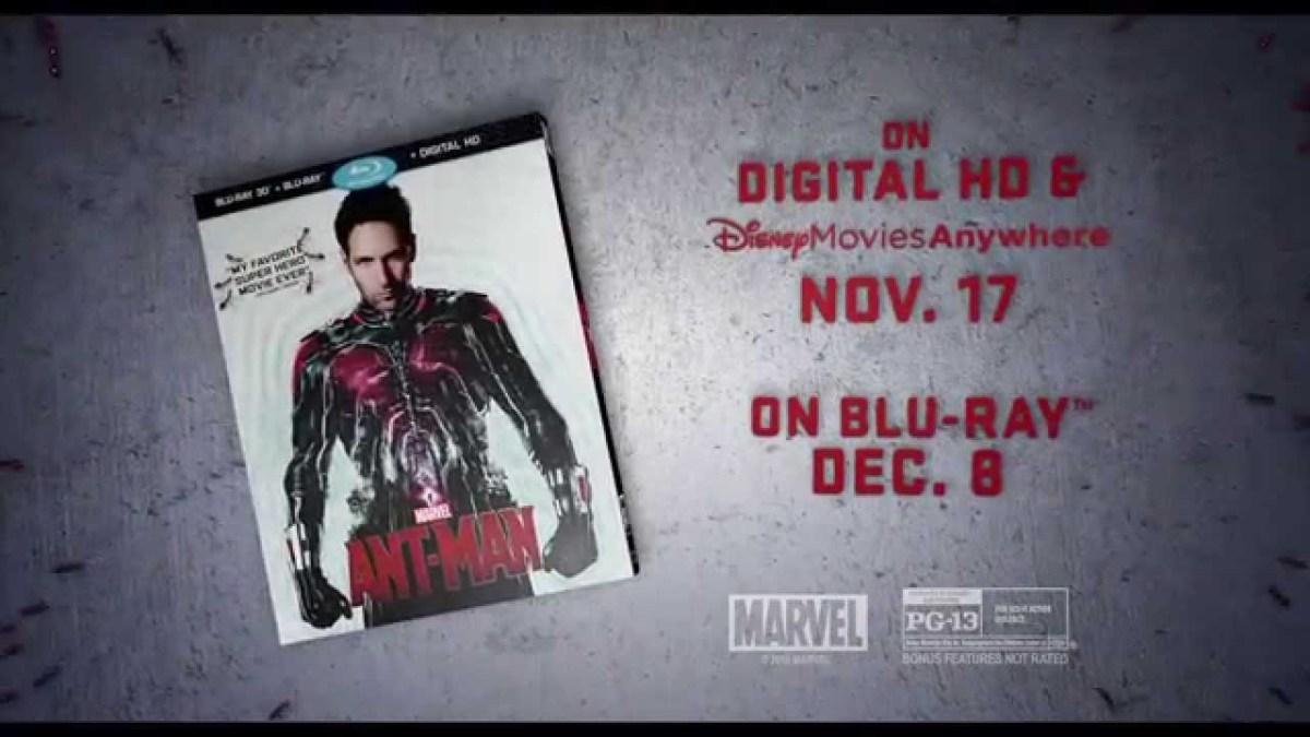 """""""Marvel's Ant-Man"""" hat sogar einen schnieken Blu-Ray-Trailer"""