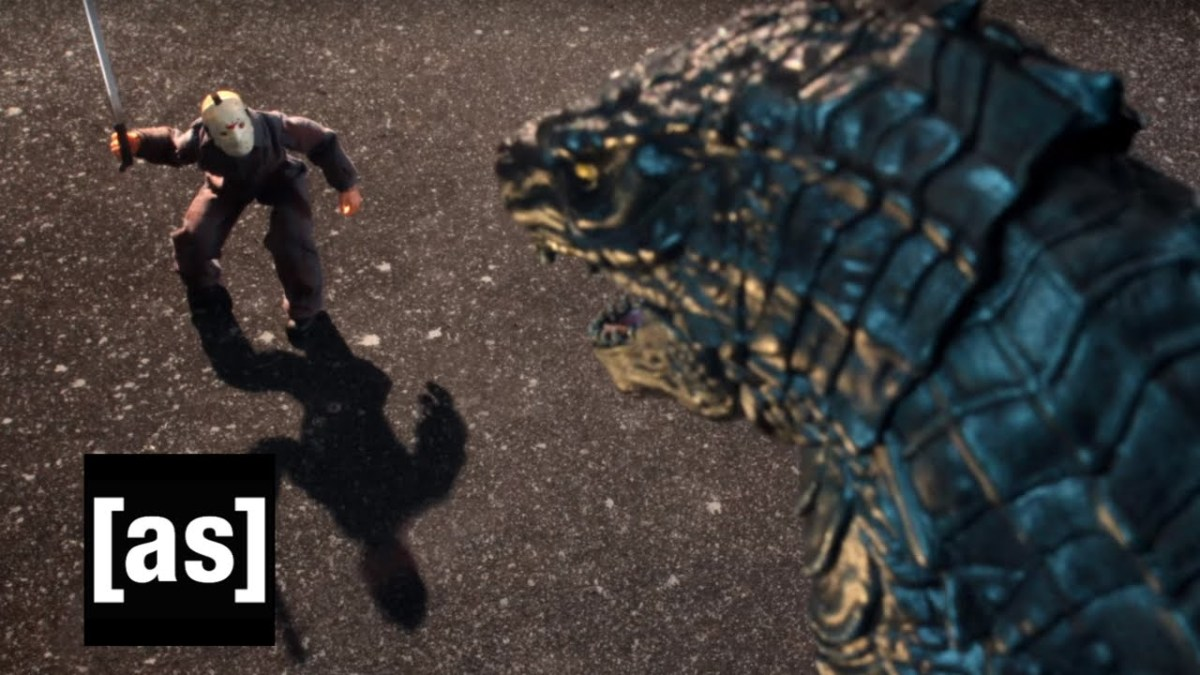 Robot Chicken lässt Jason Vorhees im Stop Motion gegen Godzilla antreten