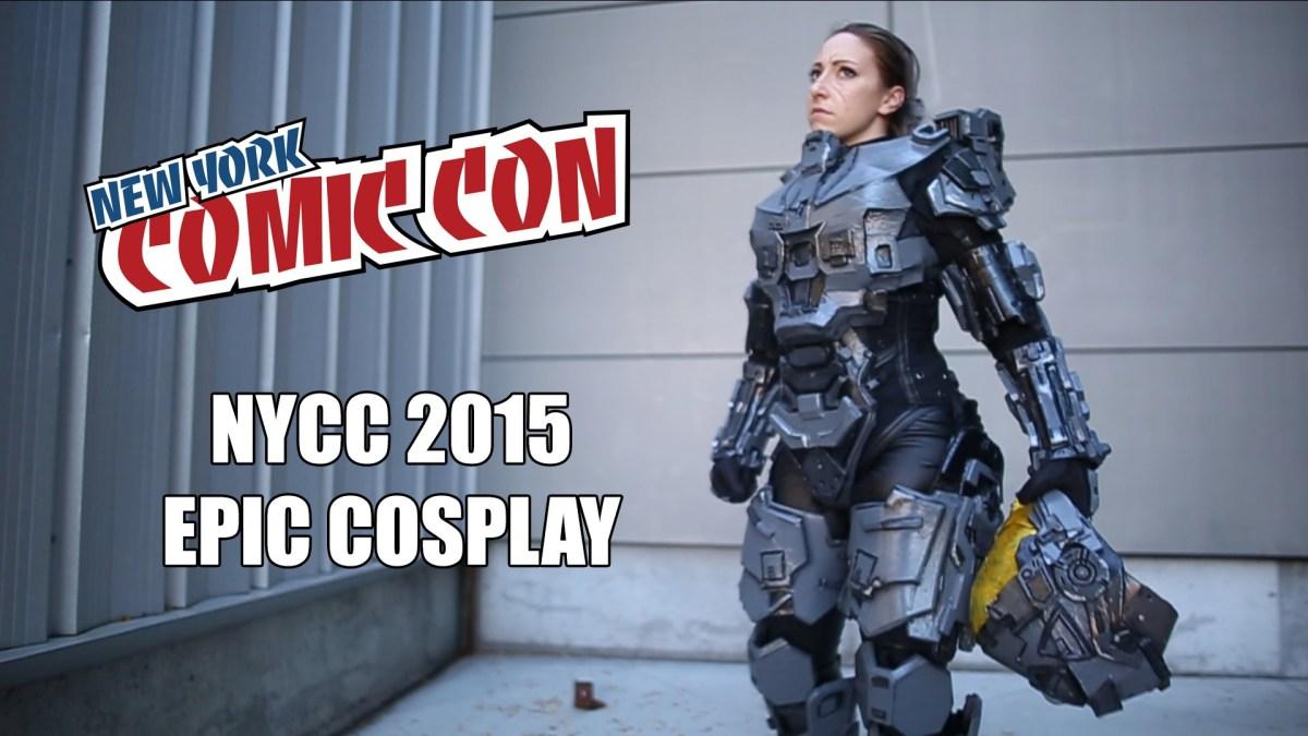 Wollt ihr etwa noch ein viertes Cosplay Musik Video von der New York Comic Con 2015?