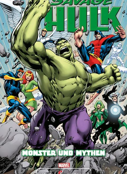 "Comicreview: ""Savage Hulk – Monster & Mythen"""