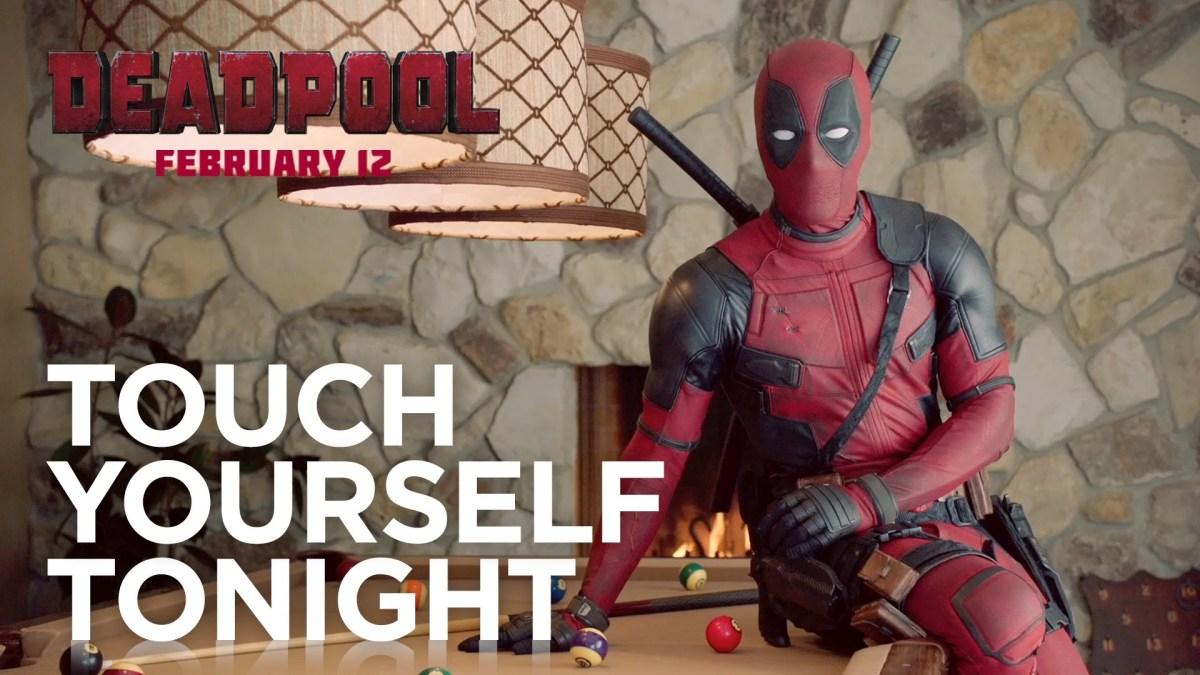 Deadpool möchte nun, dass sich auch Frauen selbst berühren und an Krebs denken