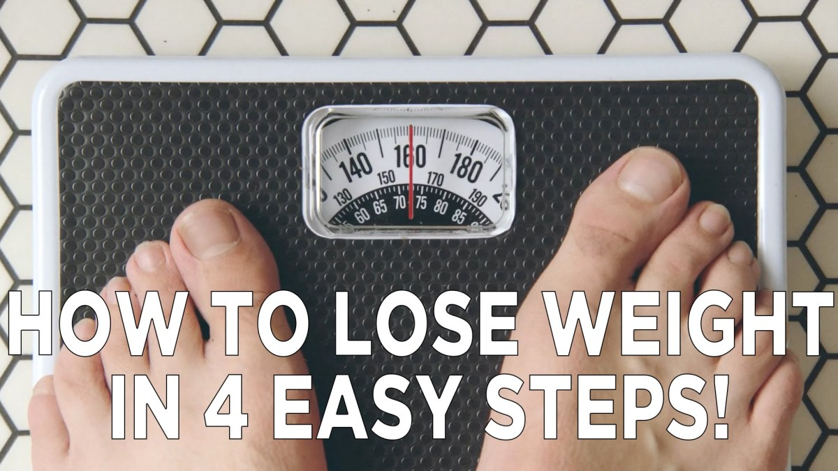 """How To Lose Weight In 4 Easy Steps"" you piece of shit"