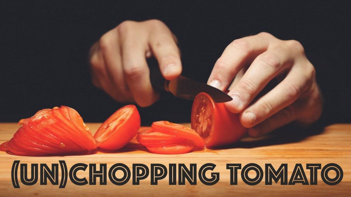 Tomaten ganz schneiden wirkt erstaunlich beruhigend