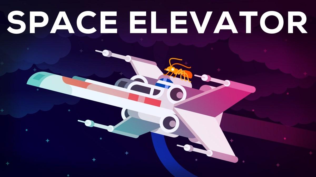 Kurzgesagt erklärt uns Space Elevators und warum sie die zweitcoolste künstliche Struktur im Weltaum sind