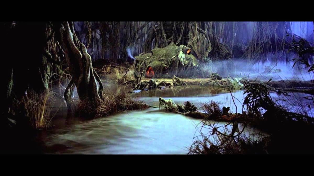 94 Minuten der Sumpf von Yoda auf Dagobah sind ein wunderschönes Entspannungsvideo