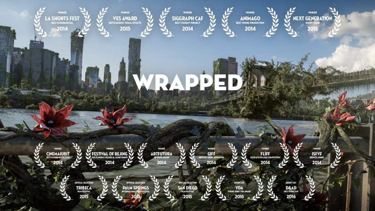 """Auch im Kurzfilm """"Wrapped"""" erobern sich die Pflanzen die Erde zurück"""